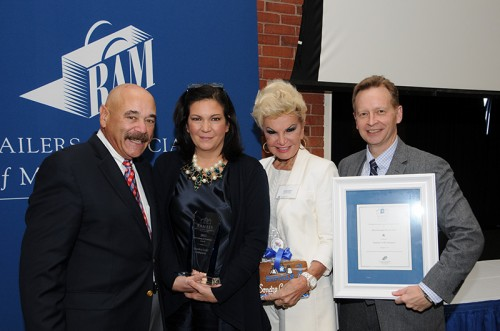 Designer Sondra Celli Recognized As Top Retailer In Commonwealth By Retailers Association Of Massachusetts